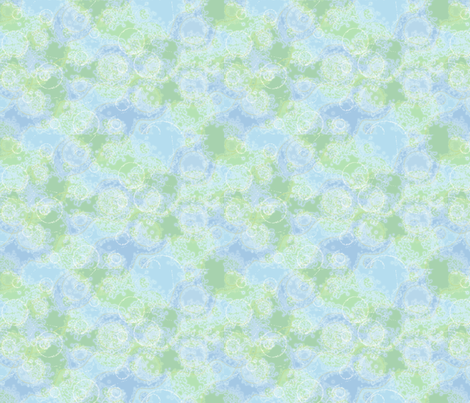 ©2011 Geographic H2O-large fabric by glimmericks on Spoonflower - custom fabric