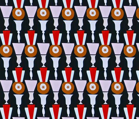 Asterisk Urns fabric by boris_thumbkin on Spoonflower - custom fabric