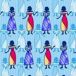 Fashionable Ladies - Blue