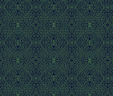 ©2011  Diamond Green fabric by glimmericks on Spoonflower - custom fabric