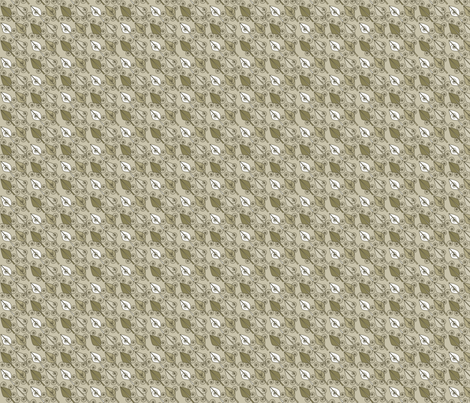 ©2011 Sandy Leaves fabric by glimmericks on Spoonflower - custom fabric