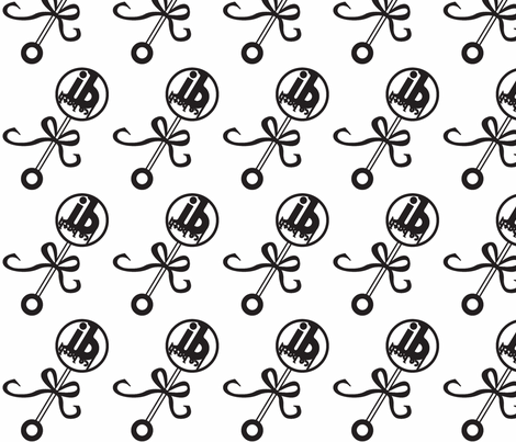baby_rattle-ed-ch fabric by icebath on Spoonflower - custom fabric