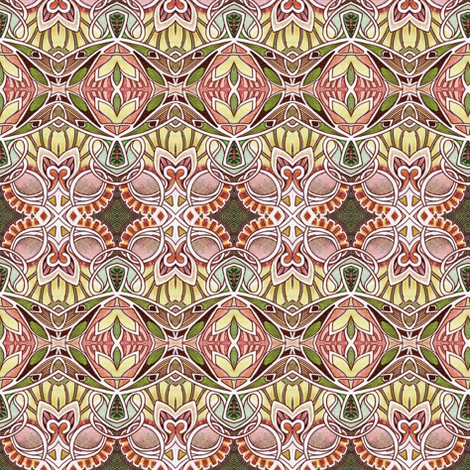 A Dusty Victorian Winter Day fabric by edsel2084 on Spoonflower - custom fabric