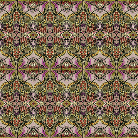 Jewel in the Crown (winter colors) fabric by edsel2084 on Spoonflower - custom fabric
