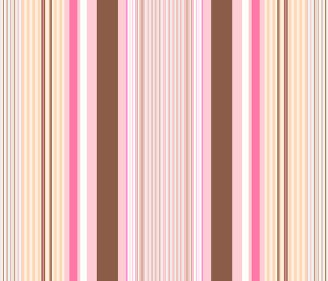 Yummy / stripe fabric by paragonstudios on Spoonflower - custom fabric