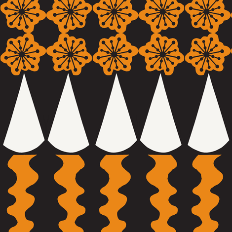 Melted Cones fabric by boris_thumbkin on Spoonflower - custom fabric