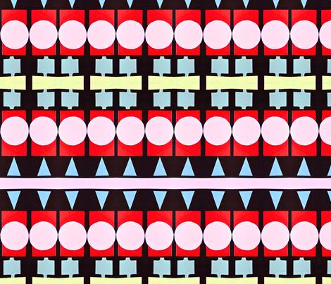 Enamel Bracelet Stripes fabric by boris_thumbkin on Spoonflower - custom fabric