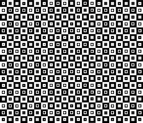 squaresNsquares fabric by bumble_bee on Spoonflower - custom fabric