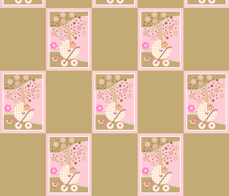 Yummy baby buggy fabric by paragonstudios on Spoonflower - custom fabric