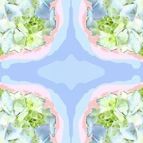 Soft Blue Hydrangea