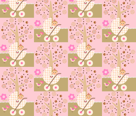 Yummy baby  fabric by paragonstudios on Spoonflower - custom fabric