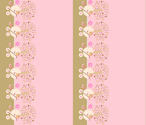 Yummy baby buggy / border fabric by paragonstudios on Spoonflower - custom fabric