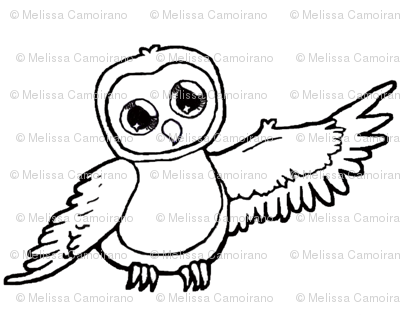 Moonbeams the Owl