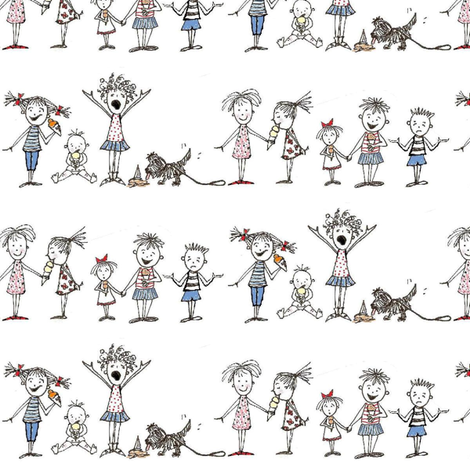 I Scream-ed fabric by ndesigns on Spoonflower - custom fabric