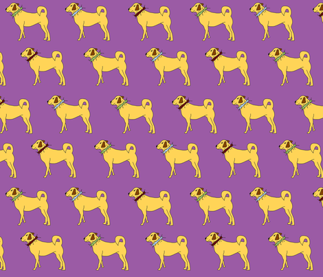 kangalline fabric by corinnevail on Spoonflower - custom fabric