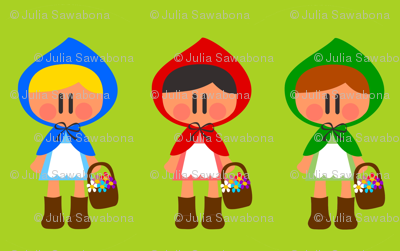 Little Red Riding Hoods color