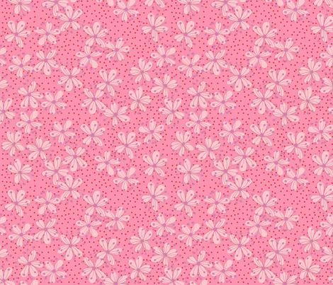 Cherry Blossoms fabric by erinina on Spoonflower - custom fabric