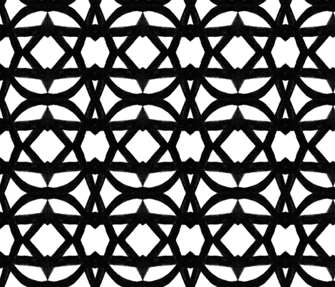 large_vine lattice fabric by joybea on Spoonflower - custom fabric
