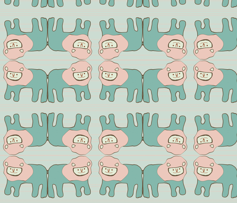 lionoldfash fabric by spharris on Spoonflower - custom fabric