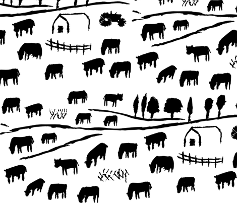 Get milk fabric by kimthings on Spoonflower - custom fabric