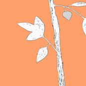 Jenny Modern in tangerine