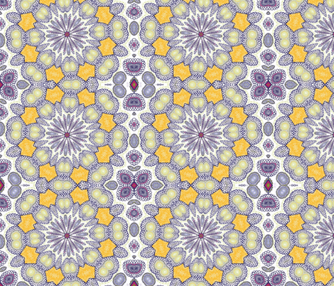 ZINNIA 4 fabric by natbrynkids on Spoonflower - custom fabric