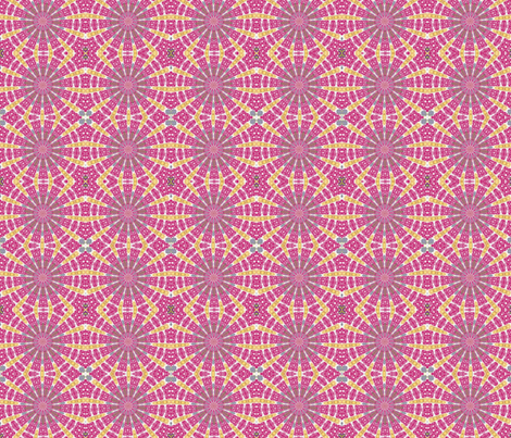 ZINNIA 3 fabric by natbrynkids on Spoonflower - custom fabric