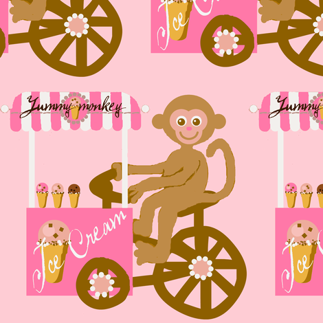 Yummy bike fabric by paragonstudios on Spoonflower - custom fabric