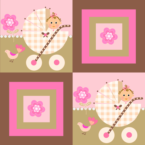buggy patch fabric by paragonstudios on Spoonflower - custom fabric
