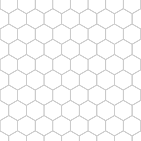 inch hex (edge to edge) fabric by sef on Spoonflower - custom fabric