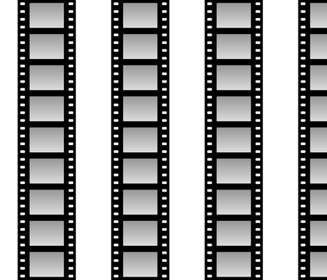 temp. custom film strip cells fabric by sef on Spoonflower - custom fabric
