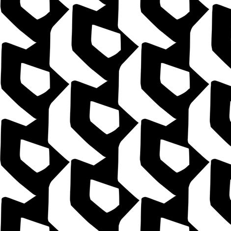 dimensional shields fabric by aperiodic on Spoonflower - custom fabric