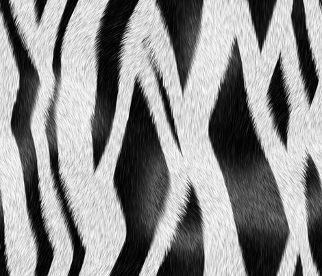 Zebra_Skin fabric by animotaxis on Spoonflower - custom fabric