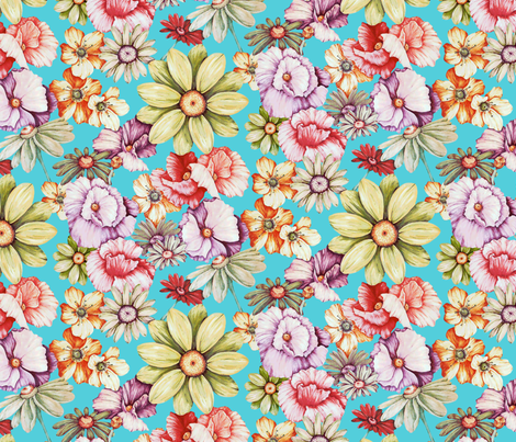 Countryfloral_Print fabric by mariana_agmont on Spoonflower - custom fabric
