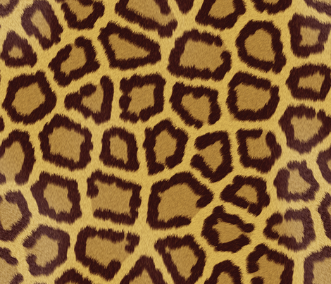 Leopard_Skin fabric by animotaxis on Spoonflower - custom fabric