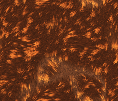 Calico_Cat_Fur fabric by animotaxis on Spoonflower - custom fabric