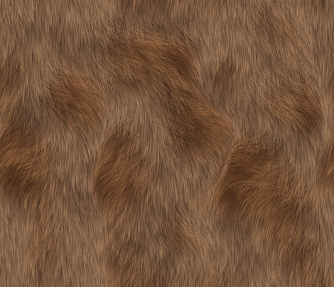 Rabbit_Fur fabric by animotaxis on Spoonflower - custom fabric