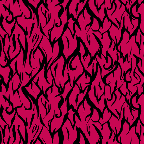 Fur:Fuchsia   fabric by pond_ripple on Spoonflower - custom fabric