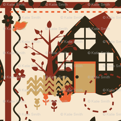 Autumn House Quilt