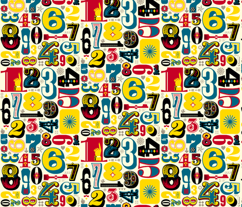Woodtype Numbers