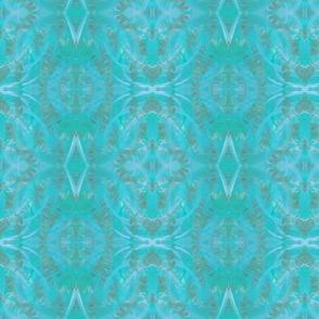 Fossil Tie Dye Aqua
