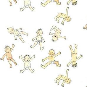falling babies