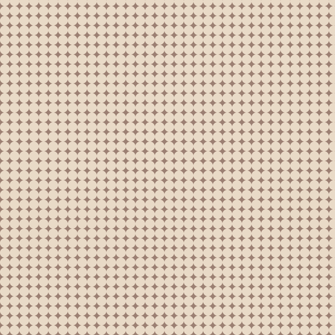 Brown_Circles fabric by animotaxis on Spoonflower - custom fabric