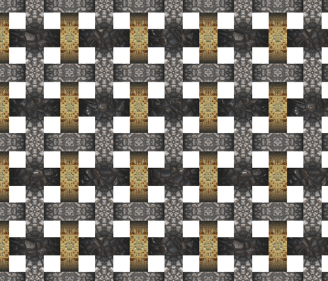 Woven_Metals fabric by animotaxis on Spoonflower - custom fabric