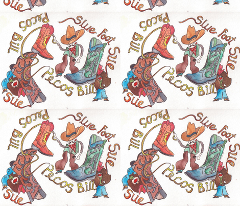Bill___Sue fabric by marlasnyder on Spoonflower - custom fabric