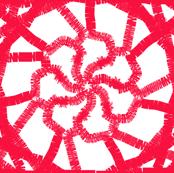frayed pinwheel
