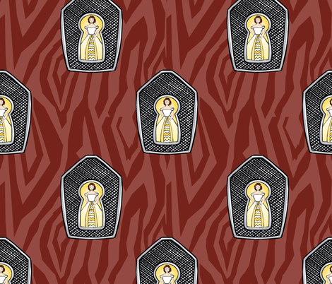Keyhole fabric by pond_ripple on Spoonflower - custom fabric