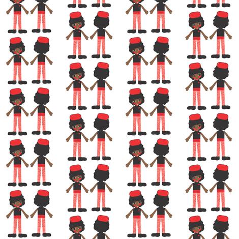 Michelle Obama fabric by orangefancy on Spoonflower - custom fabric