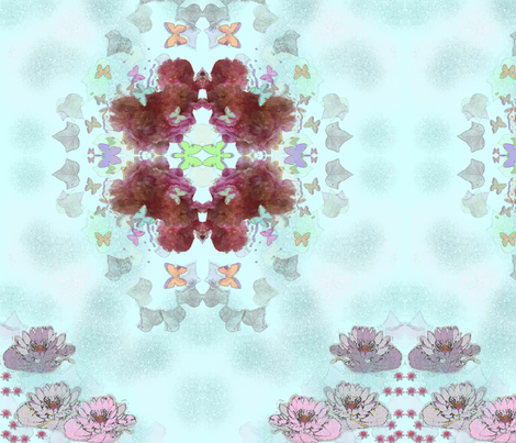 flower fabric by ambies on Spoonflower - custom fabric