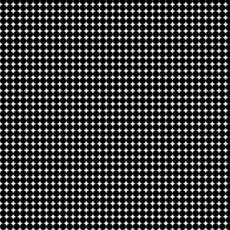 Dots_Black fabric by animotaxis on Spoonflower - custom fabric